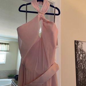 Vera wang white blush bridesmaid dress *NWT*